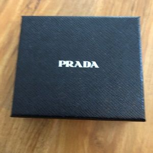 Prada Accessories - Brand new authentic men's Prada wallet.